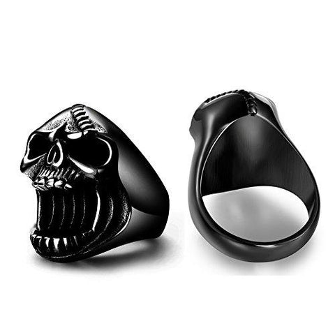 Awesome Skull Rings + Bottle Opener