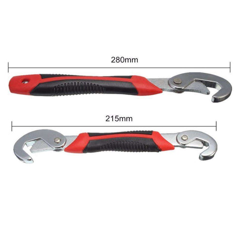Set Of 2Pcs Universal Wrench Snap & Grip 9-32MM