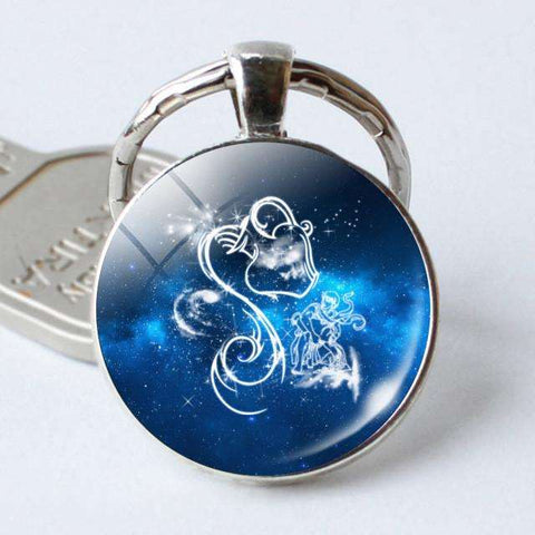 Zodiac Sign KeyChain