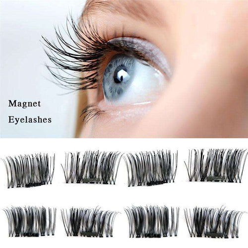 Set Of 4PCS Magnetic False Eyelashes