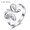 Image of CACANA Titanium Butterfly Ring