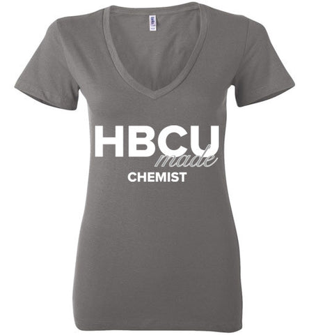 HBCU Chemist Ladies Deep V-Neck
