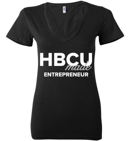 HBCU Entrepreneur Ladies Deep V-Neck