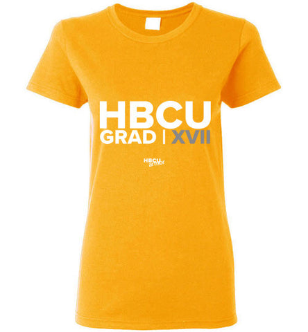 HBCU Grad 2017 Ladies Short-Sleeve