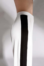 Pants with black lateral band