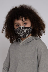 Kids Adjustable Snow Leopard Mask