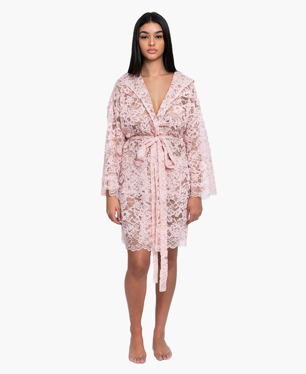Peace Blush Robe Dress