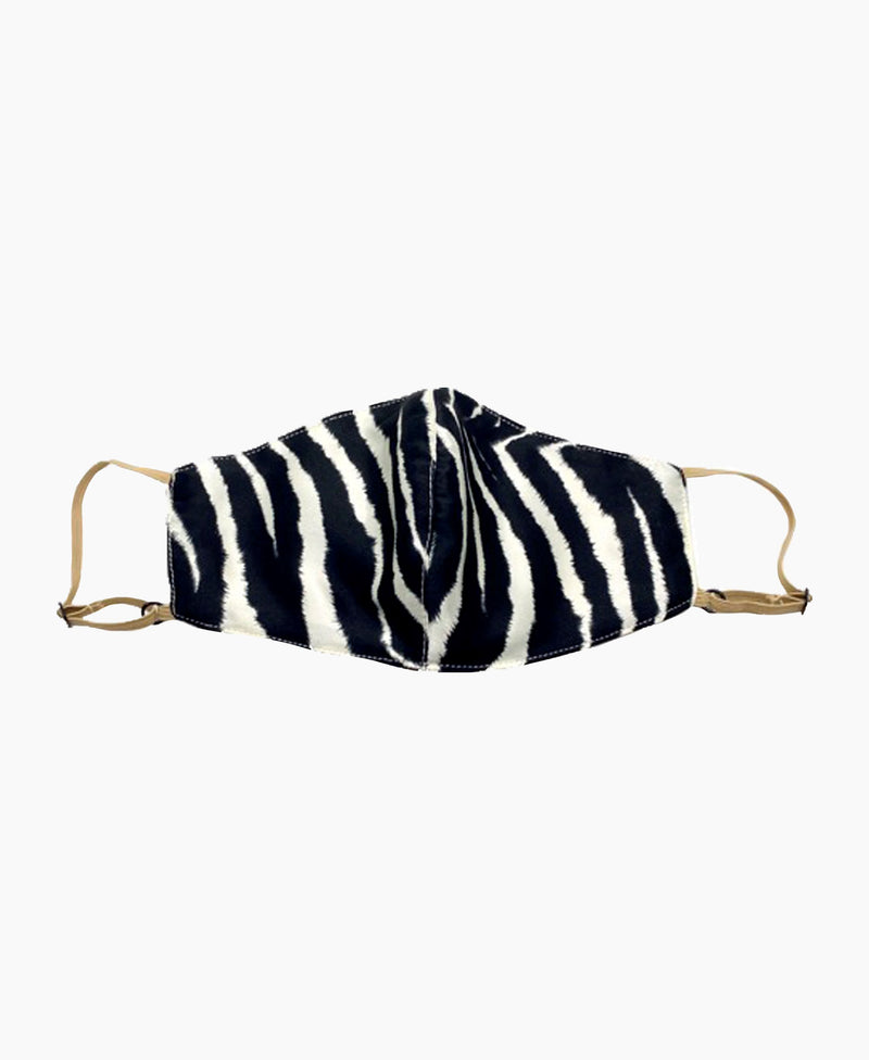Adjustable Zebra Lightweight Mask