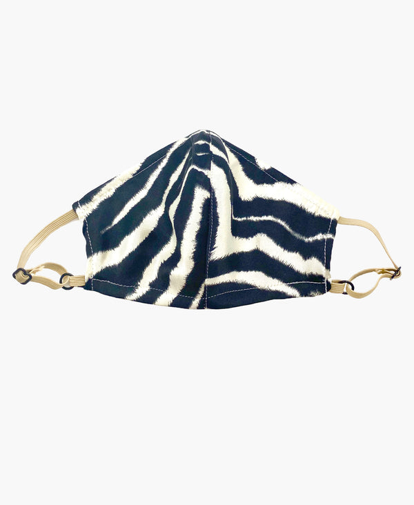 Kids Adjustable Lightweight Zebra Mask
