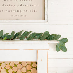 Mantel Décor: How to style a mantel