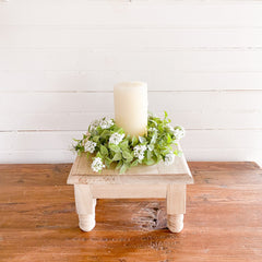 Let Spring bloom inside with faux greenery