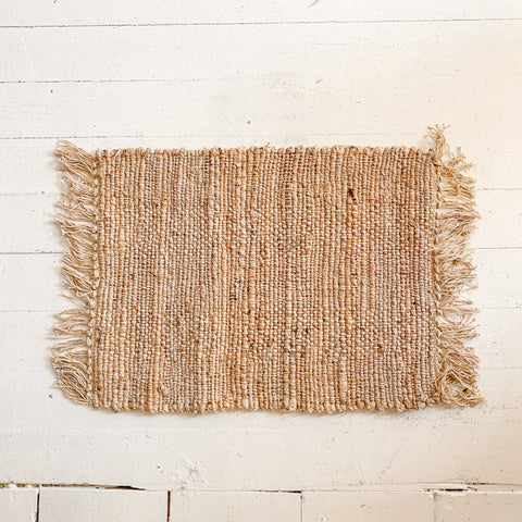 Cyrene Woven Jute and Cotton Placemat