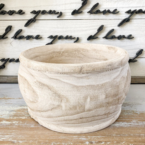 Paisley Wooden Planters