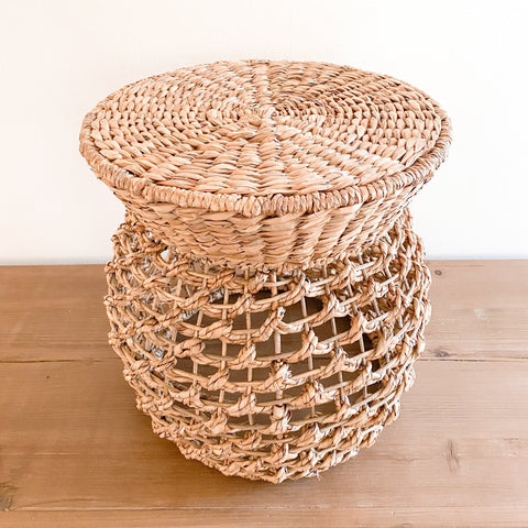 Joie Woven Stool/Plant Stand