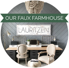 Our Faux Farmhouse