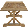Elin Extendable Pine Wood Dining Table