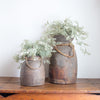 Huntley Mango Wood Urns
