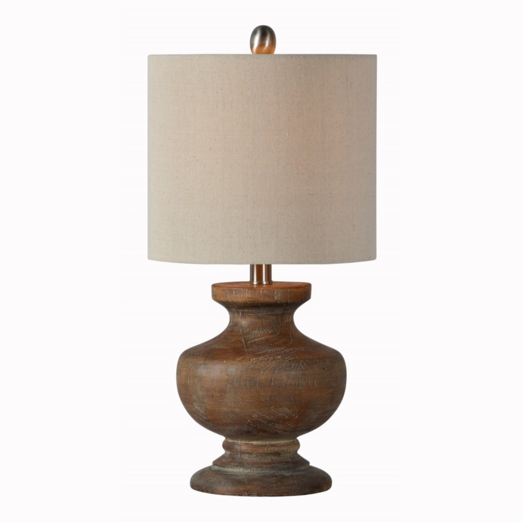 Laura Wood Look Table Lamp