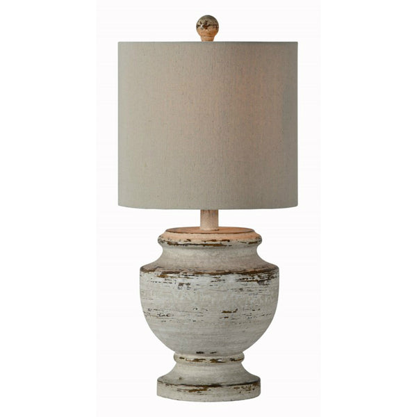 Lucas Distressed Table Lamp