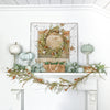 "Rose Bud Box ""Audrey"" Mantel Decor"