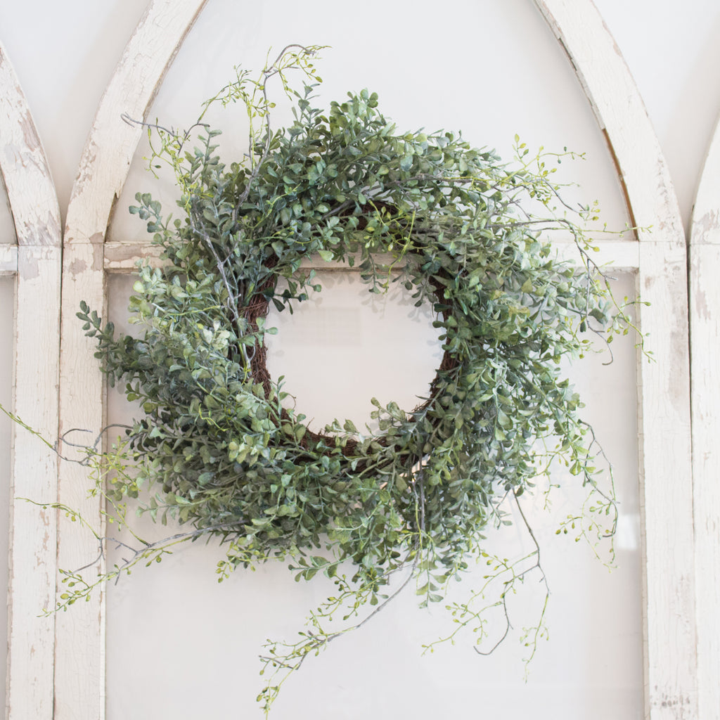 Boxwood Vine Wreath