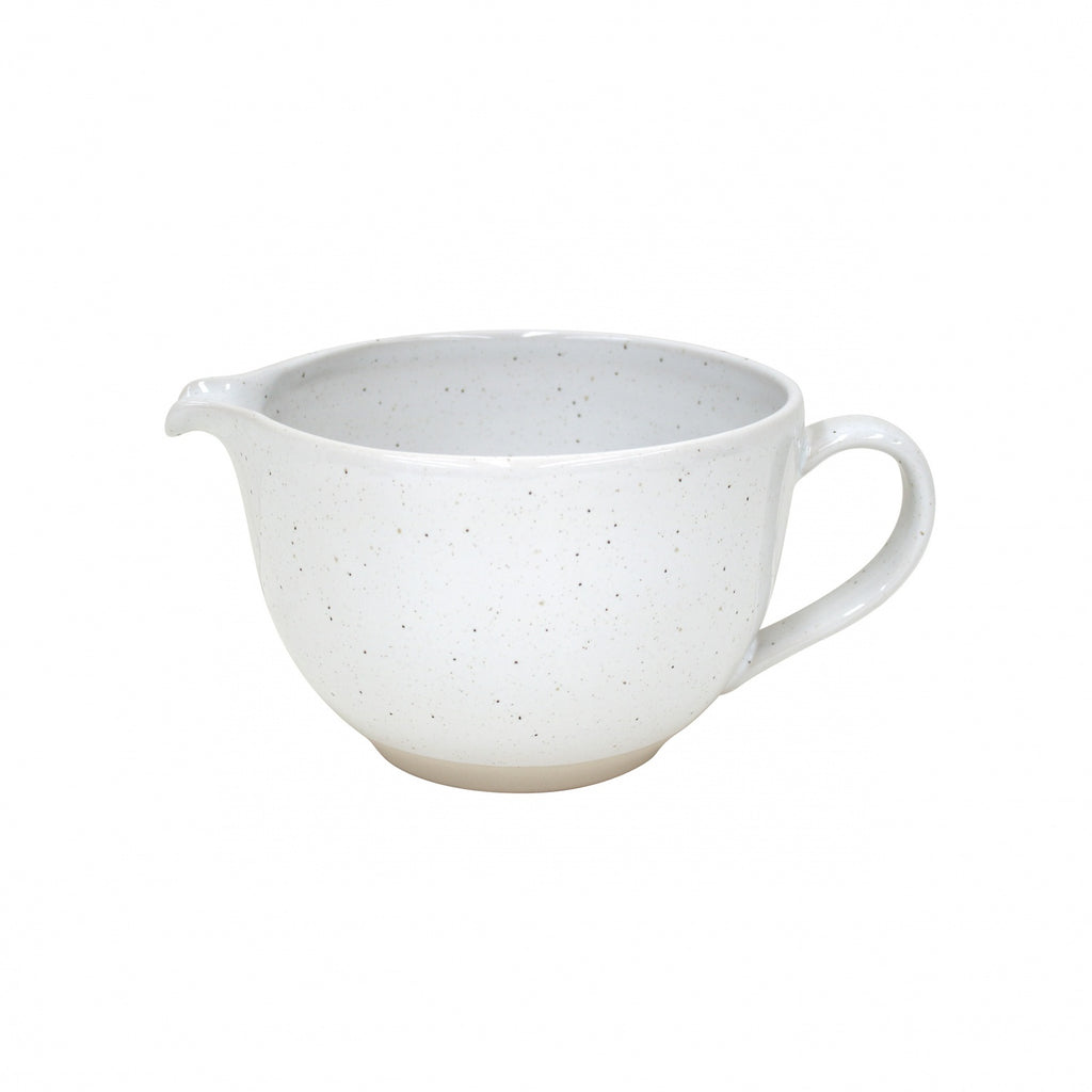 Farmhouse Collection Stoneware Batter Bowl White