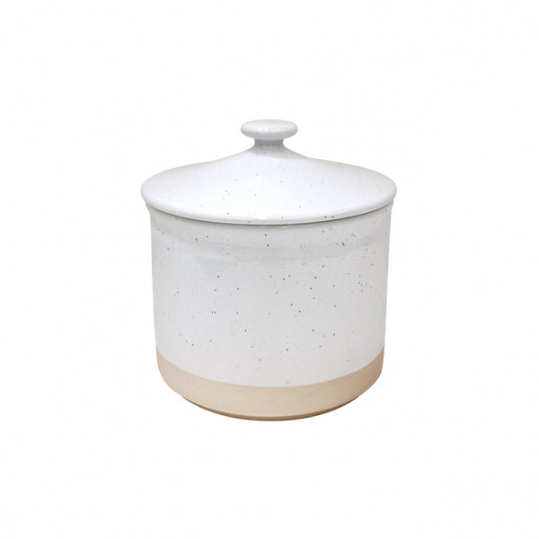 Farmhouse Collection Stoneware Canisters White