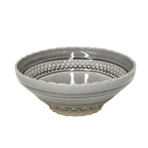 Bijou Stoneware Cereal Bowl Gray (set of 6)