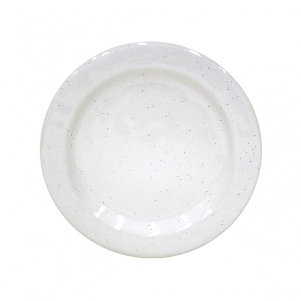 Farmhouse Collection Stoneware Dinner Plate White Set of 6