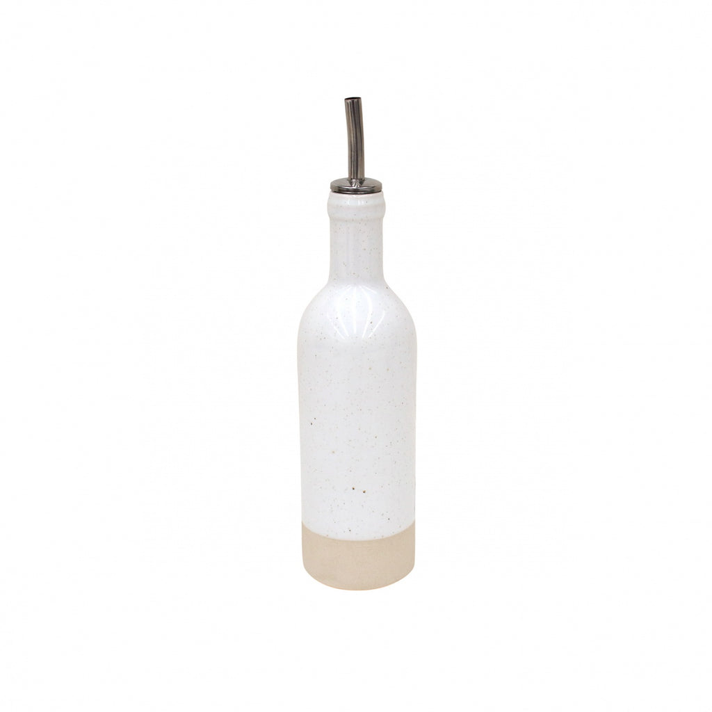 Farmhouse Collection Stoneware Cruet White
