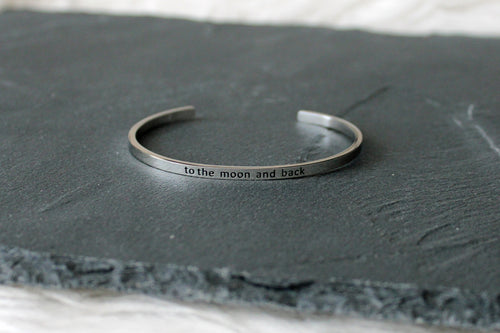 Bracelet TO THE MOON AND BACK