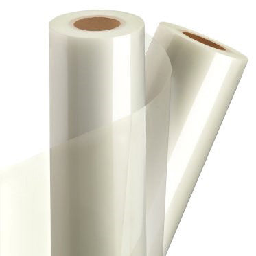 10 Mil Gloss Laminating Film with low temperature adhesive