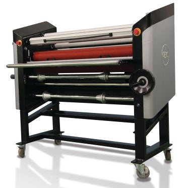 "GBC Spire III 64T is a wide format 64"" hot/cold laminator/mounter"