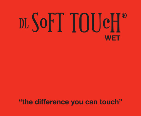 Soft Touch laminating film with extreme bond adhesive