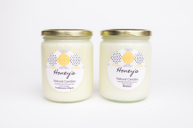 Honey's Natural Candles: The Birth of Highly Fragrant, Non-Toxic Soy Candles