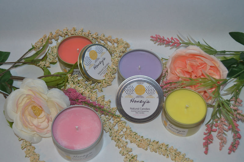 Spring Scented Soy Candle Favorites