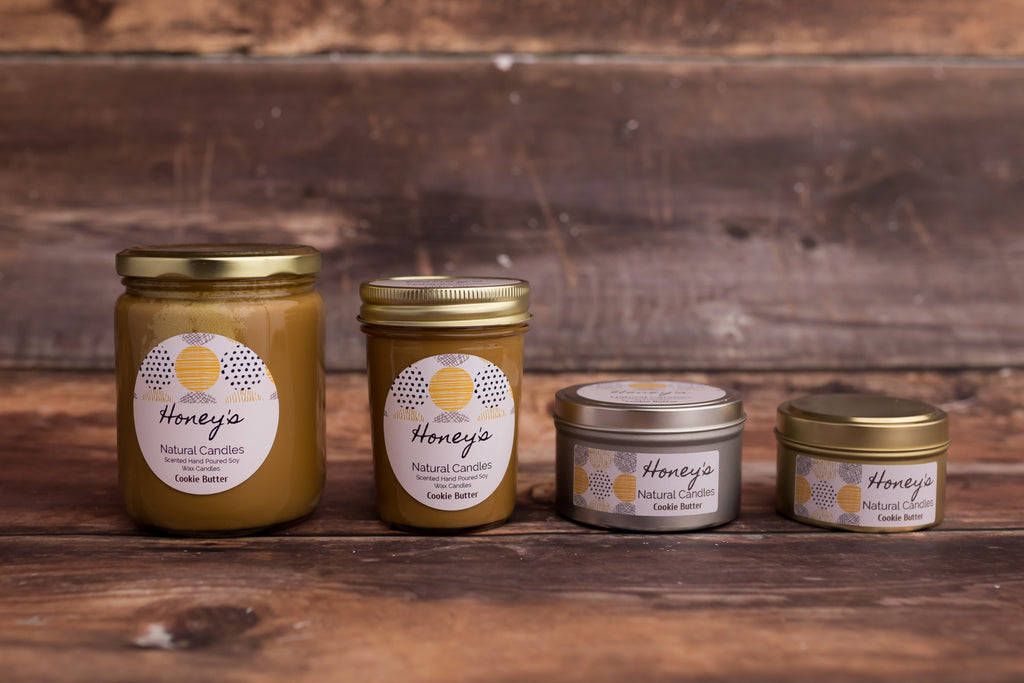 Cookie Butter Candle - Honey's Natural Candles