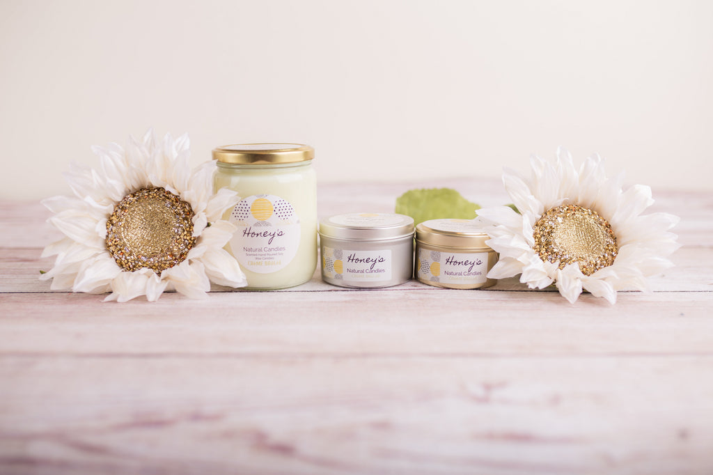 Creme Brulee Candle - Honey's Natural Candles