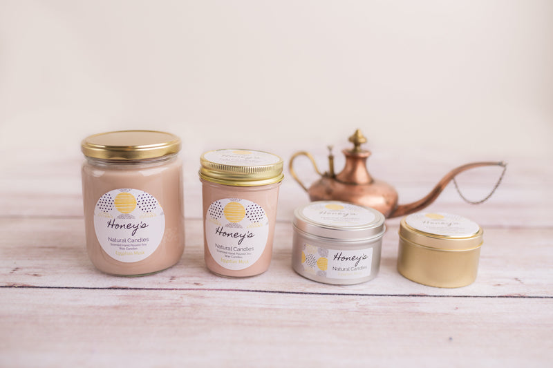 Egyptian Musk Candle - Honey's Natural Candles