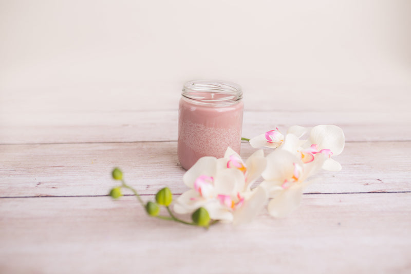 Sea Salt and Orchid Candle - Honey's Natural Candles