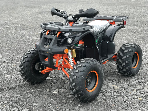 Adult electric atv e-atv e-grizzly e-kodiak 4-wheeler for teenagers venom motorsports