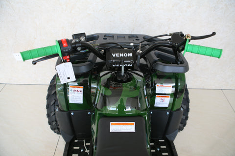 2018 Venom Grizzly 125cc ATV Quad VTT in Canada Yamaha Polaris