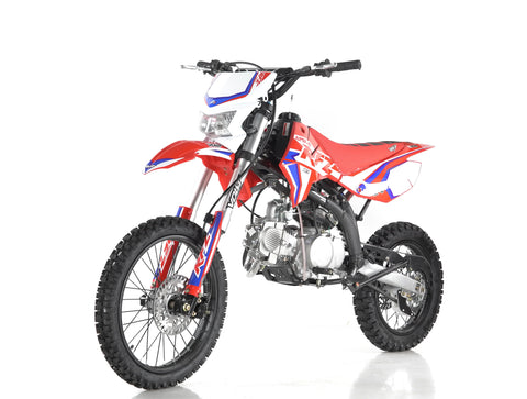 Apollo RFZ Enduro 150 from Venom Motorsports in RED front headlight