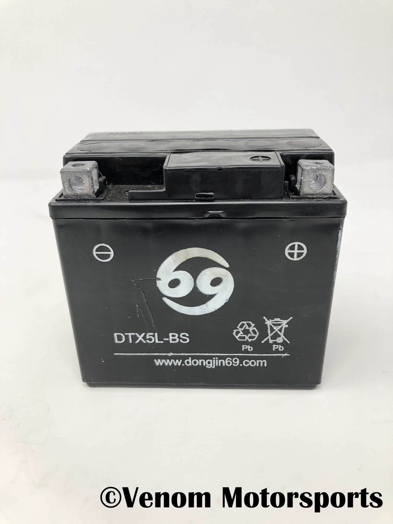 Replacement Battery DTX5L-BS | Venom 110cc-125cc ATV
