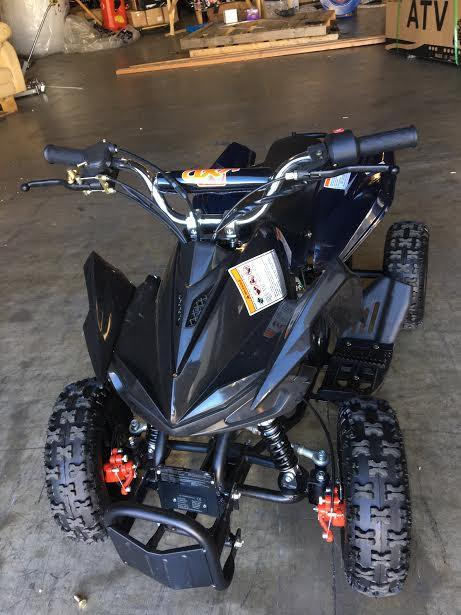 Premium 50cc Sport Mini Quad ATV Four-Wheeler Gas