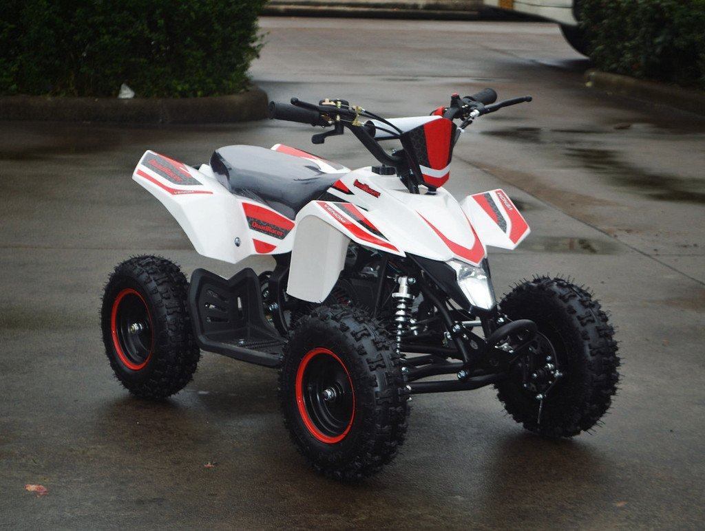 buy premium 49cc mini quad atv four wheeler gas vtt for kids on sale venom motorsports canada. Black Bedroom Furniture Sets. Home Design Ideas