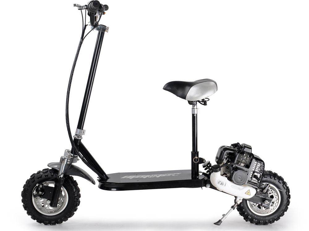 premium 49cc gas power mototec stand up scooter board w. Black Bedroom Furniture Sets. Home Design Ideas