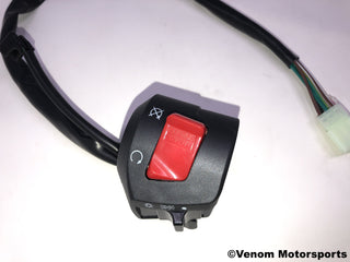 Replacement Right Side Start Switch | Venom 50cc Fatboy