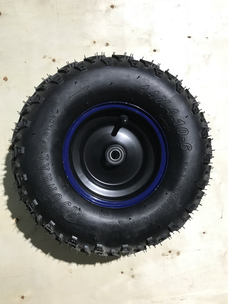 Electric ATV Tire + Rim | Venom 1300W ATV
