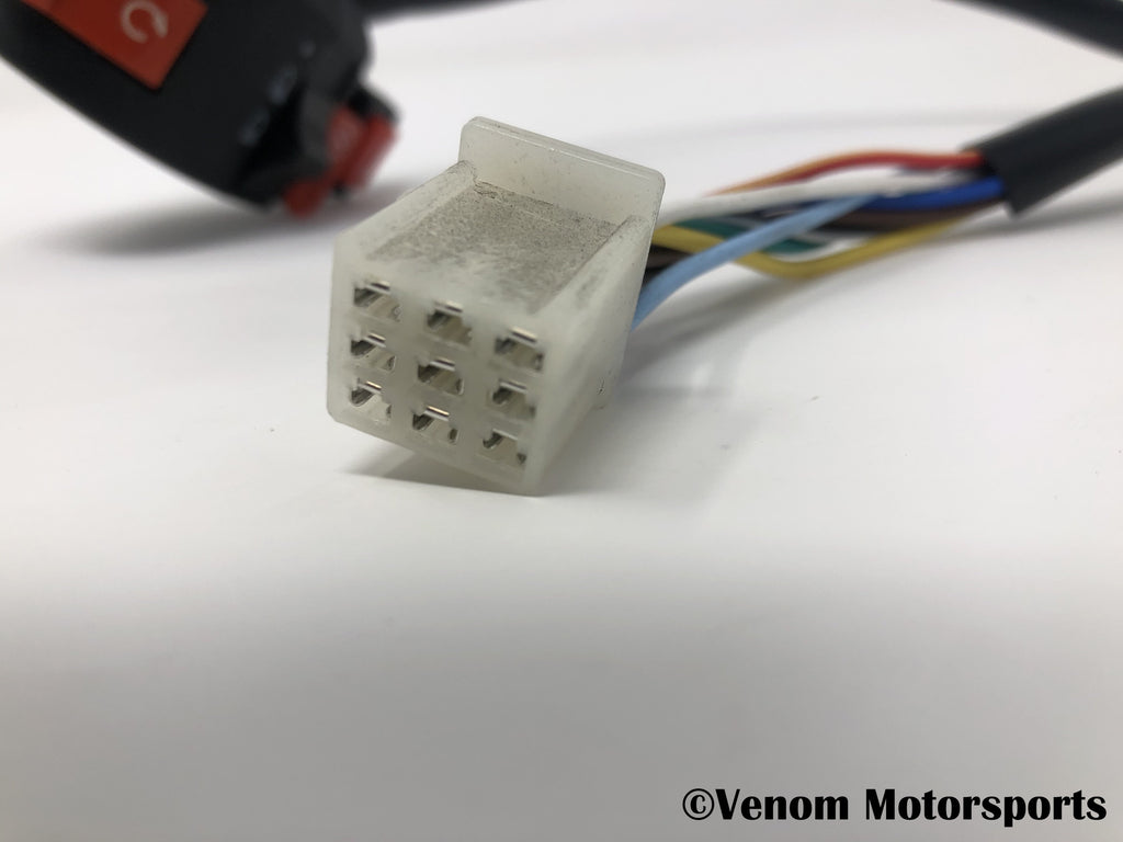 Replacement Left Side Control Switch | Venom 125cc ATVs